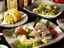 海鮮づくしの宴会コース多数あり!