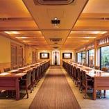 【李荘ABC】洋室テーブル 完全個室 最大60名