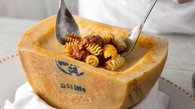 ラディアトーリのボロネーゼ(ペラガッティーノチーズ)