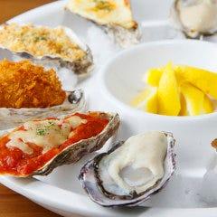 生牡蠣&焼き牡蠣