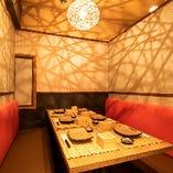プライベート感たっぷりの完全個室♪2名~65名様の宴会個室も完備!
