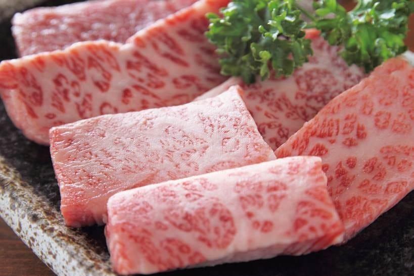 お肉はすべてA4等級の黒毛和牛