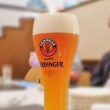ドイツ輸入樽生ビールは、毎月替わりで4種類☆