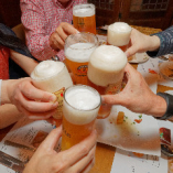 みんなで乾杯!飲み放題プランもご用意あります。