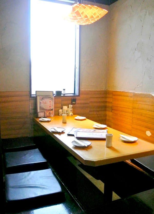 ◆全席個室のプライベート空間