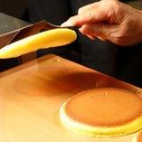 伝統のレシピで作る『ホットケーキ』は昔ながらの懐かしい味