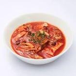 『完熟トマトのスープパスタ』は、フォカッチャを追加したくなる味