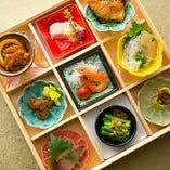 【ガーデンズコース】 目でも楽しめる、色彩豊かな広東料理