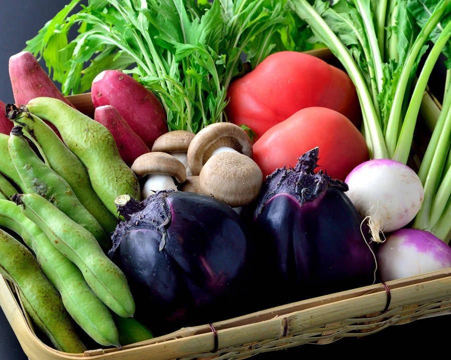 地元農家から栄養価の高い京野菜を!