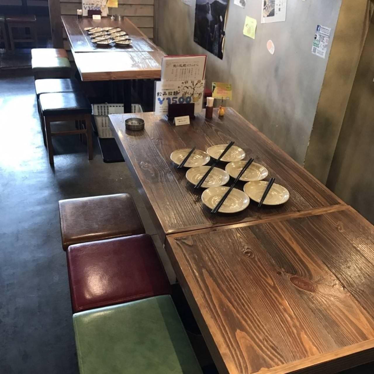 テーブル席・12名様