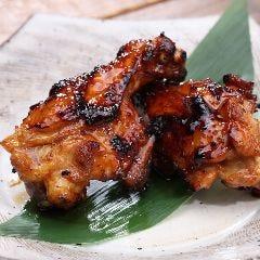 みやざき地頭鶏 炭火手羽元タレ焼(2本)