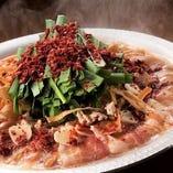 豚バラとたっぷり野菜のスタミナ辛鍋