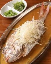 日本の食材にこだわった和風の中華