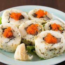 五島直送の海鮮ロール寿司