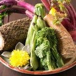 京野菜など全国からおいしい食材を厳選!