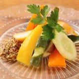 湘南地野菜の自家製ピクルス