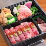 肉寿司弁当
