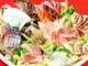 刺身10点盛り付玄海秋の玄海旬魚満喫コース⇒2時間飲込3,000円