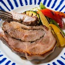 《メインは銘柄豚のロースト》リーズナブルにバンブゥで宴会を楽しめる!2H飲み放題付 8品 4,000円