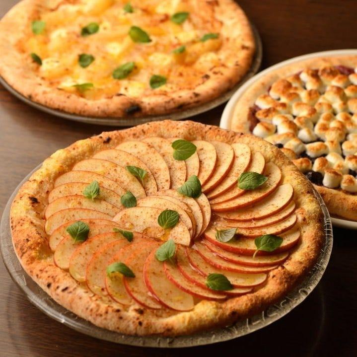 大人気!石釜Pizza