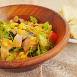 サラダランチ 本日のスープ+フォカッチャサンド+A or B サラダ+ドリンク