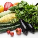 契約農家から直接仕入れた新鮮な野菜【長野県】