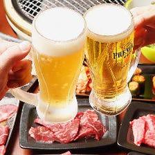 単品飲み放題で朝まで宴会を満喫!