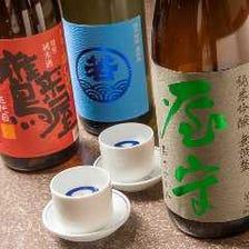 【銘酒】北海道、全国の地酒がずらり