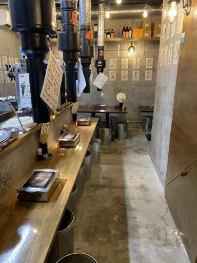 ホルモンここから 那覇栄町店  店内の画像