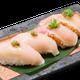 ももとムネ肉の両方が味わえる珍しい【鶏寿司】