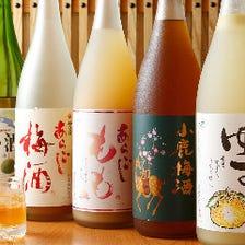厳選!5銘柄の梅酒・果実酒