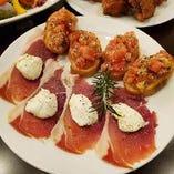 本場・イタリアならではの料理をご堪能いただけます。
