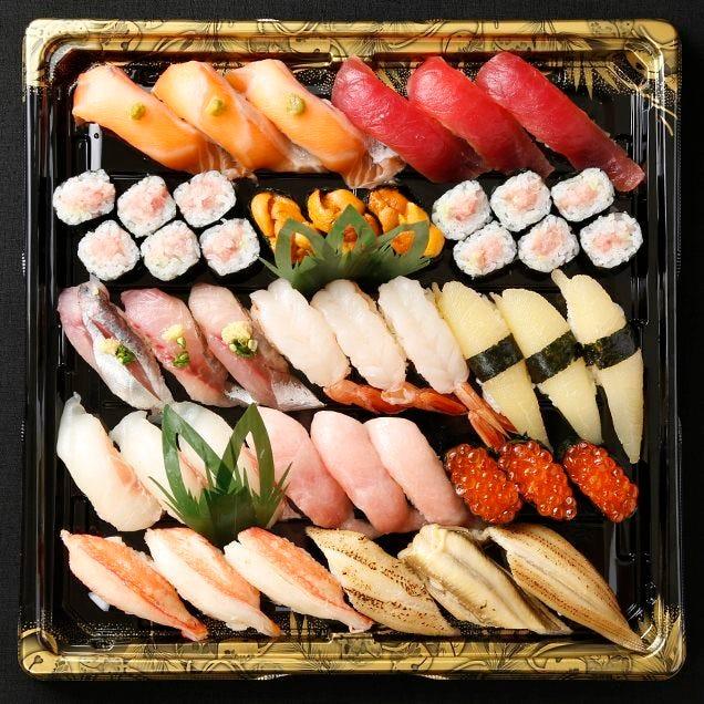 【テイクアウト専用】本格江戸前寿司をご家庭で!3人前 全37貫 特上きり