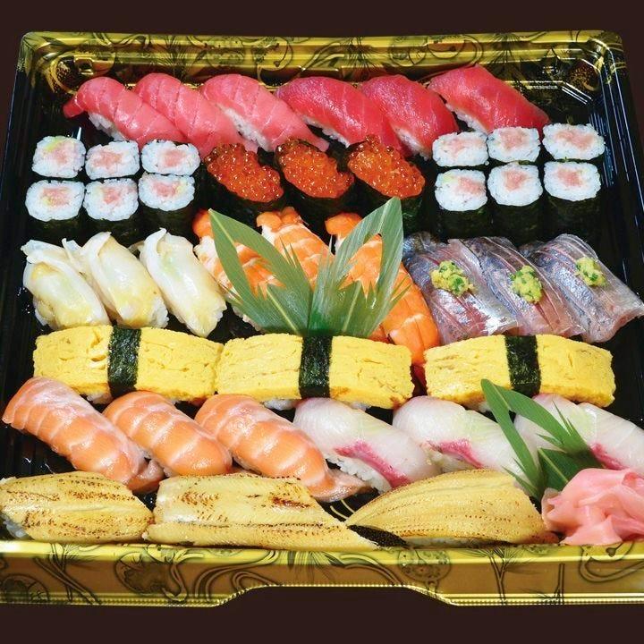 【テイクアウト専用】本格江戸前寿司をご家庭で!3人前 やしお