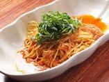 ツナと大葉のトマトパスタ