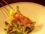 和牛タンと韓国サラダ