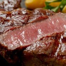 日本が誇る「松阪肉」をステーキで