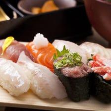 富山のお寿司もお刺身も楽しめる!