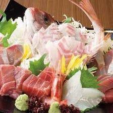 富山の漁師直送のお得な刺し盛り