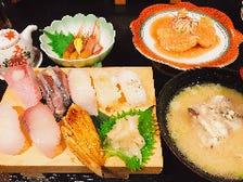 昼寿司御膳(ランチ)