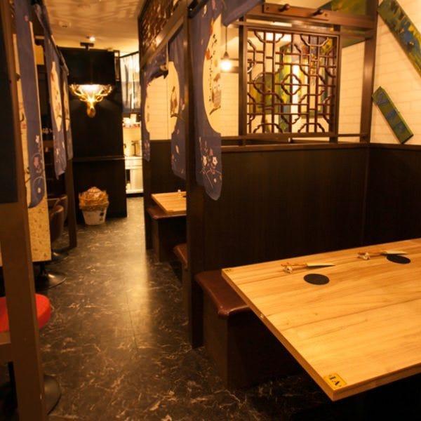 【個室】1F、2F 和食居酒屋