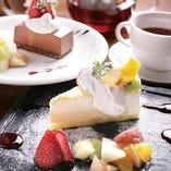 デザートセット お好きなデザートと香りを楽しむ紅茶