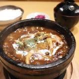 【石焼】3種のきのこハンバーグカリー
