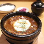【石焼】3種のチーズハンバーグカリー