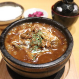 【石焼】和牛ビーフハンバーグカレー
