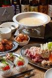 冬季限定 特選鶏水炊きコース