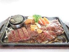 牛肩ロースステーキ膳 (200g)