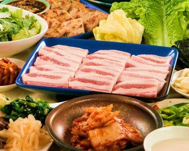 サムギョプサル食べ放題 漢拏 -ハンナ- 府中店 メニューの画像