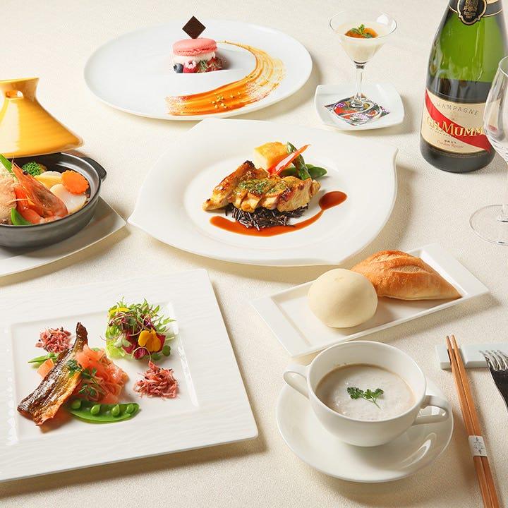 ◆4,000円ランチコース◆お祝い会・企業様ランチにおすすめ!贅沢ランチコース