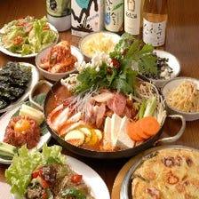 本格韓国料理の宴会コース2,500円~